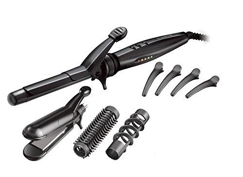 Remington Multistyle Rizador de Pelo, Negro