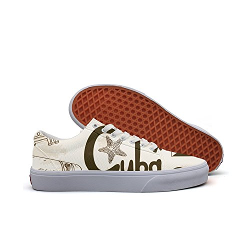 KKLDFD Angry Birds Gun Safe Where Are Pineapples Grown Women Canvas Low-top Shoes Loafer White