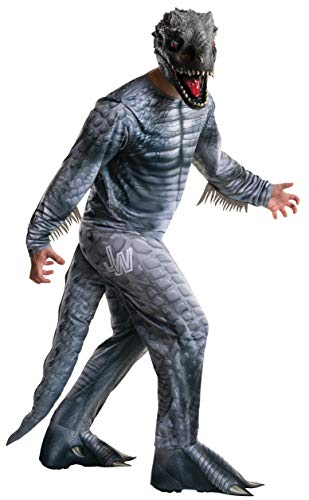 Adult Jurassic World Indominus Rex Fancy Dress Costume Standard