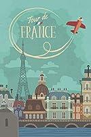 ERZAN風景知育puzzleツールドフランスヴィンテージフレンチトラベルプリントジグソーパズル1000ピース