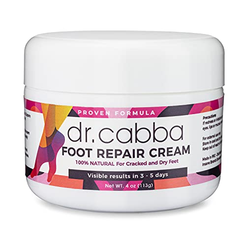 of athletes foot creams dec 2021 theres one clear winner Natural Foot Cream For Dry Cracked Feet - RESULTS Within Days Or Pay Nothing - Deep Moisturizing Formula With Urea - for Cracked Heels, Dry, Flaky, Rough Foot (4 Ounce)
