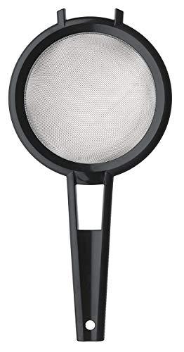 Sil 19 cm - Idealisk för Att Sila Ris och Quinoa - Hållbar Silduk av Rostfritt Stål - BPA-Fri - Svart - 34 x 19 x 8,5 cm - Tillverkad i Sverige - GastroMax
