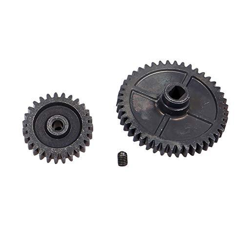 GoolRC Metal Motor Gear Kit Spur Gear Main Gear 49T 27T for WLtoys XKS 144001 1/14 RC Car