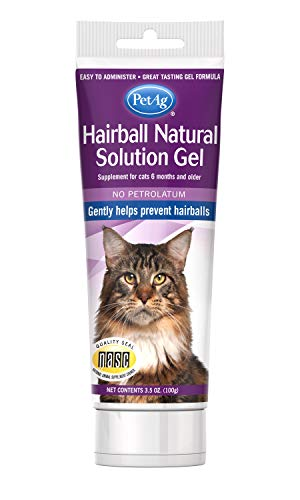 PetAg Hairball Natural Solution Gel