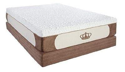 DynastyMattress New! 14-Inch Grand Cool Breeze HD Gel Memory Foam Mattress-Calking Size