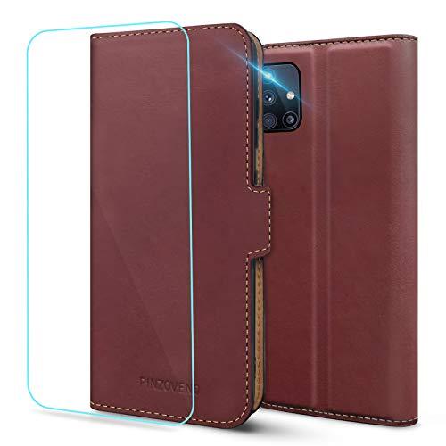 Cover per Samsung Galaxy M31s,Custodia Flip Caso in PU Pelle Portafoglio