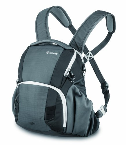 Pacsafe V11-Storm Grey Camsafe Anti-Theft Camera Front Pack (Storm Grey)