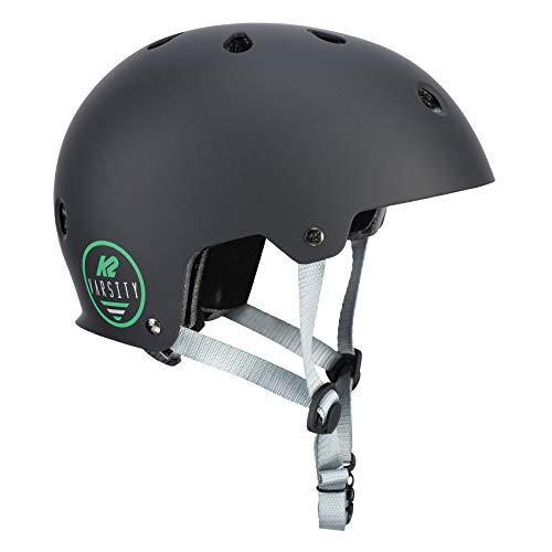 K2 Damen Herren Inline Skates Helm VARSITY - Schwarz - S (48-54cm) - 30D4105.1.1.S