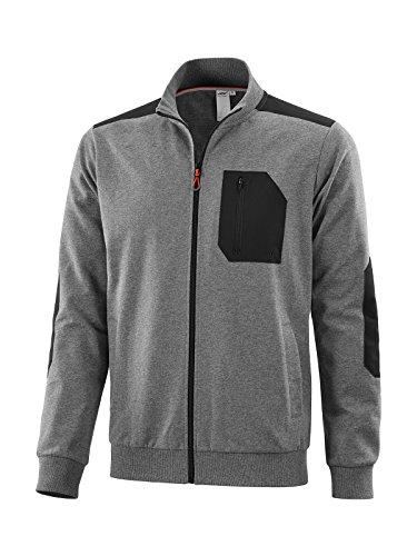 Joy Sportswear Paddy Herren Freizeitjacke mit Reißverschluss und Taschen für Freizeit, Sport & Gym 48, Basalt Melange