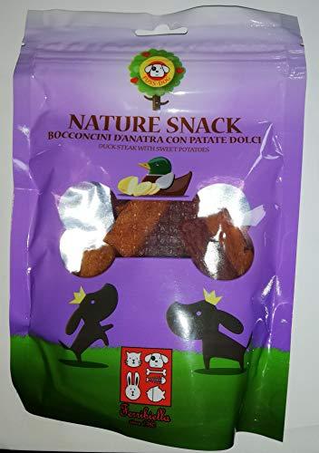 Ferribiella Nature Snack bocconcini D'Anatra con Patate Dolci