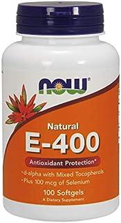 NOW Foods E-400 Mixed Tocopherols & Selenium Softgels 100's
