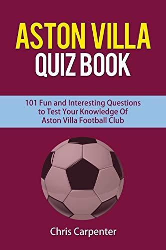 Aston Villa Quiz Book