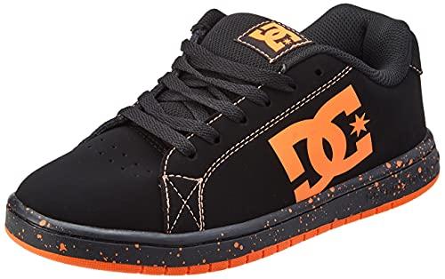 DC Shoes Gaveler-Leather Shoes, Zapatillas Hombre, Negro, 41 EU
