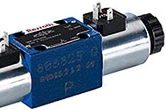 Bosch Rexroth AG 3WE6B60/EG24N9K4 Hydraulic Direction Spool Valve, Direct Operated, With Solenoid Actuation