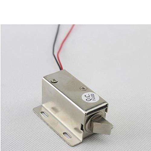 Cerradura electromagnética, Cerradura eléctrica pequeña, lengüeta Oblicua de 12V, Cerradura de válvula...