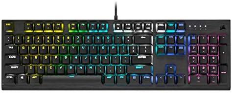 Corsair K60 RGB PRO LOW PROFILE Teclado Mecánico para Juegos (Interruptores CHERRY MX Low Profile SPEED: Rápido y...