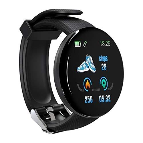 JIAYU Reloj elegante, pantalla rastreador de ejercicios con color IP67 impermeable con podómetro podómetro información monitor de frecuencia cardiaca de llamadas inteligente reloj, conveniente for And