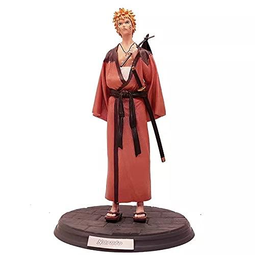 Estatueta Brinquedo Boneco Figura de ação de Pvc Anime Naruto Shippuden Figure de Action Naruto, Sasuke 30Cm (Naruto)
