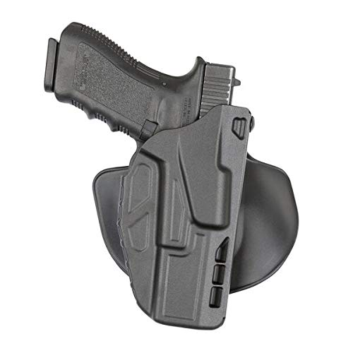 Safariland 7378 7TS ALS Concealment Paddle & Belt Slide Holster, Glock 19, 23 4.0', Plain...