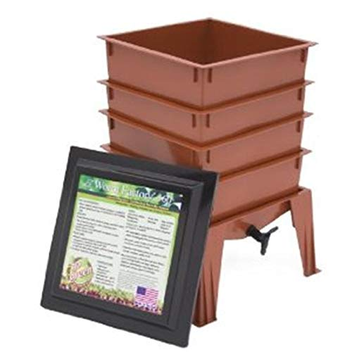 Review Of Jur_Global Worm Factory 360 Composter - Terracotta