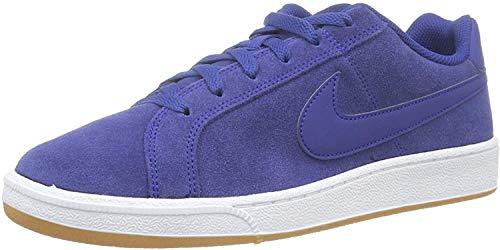 Nike Court Suede, Zapatillas de Gimnasia Hombre, Azul (Deep Royal Blue/Deep Royal Blue/Black/Gum 405), 45 EU