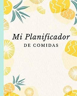 Mi Planificador De Comidas: 52 semanas planificador de comidas   Planificador de comidas para organizar, registrar y plani...