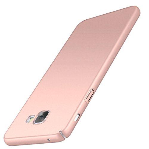 Funda Samsung Galaxy A5 2016, Aostar Carcasa Ultra ligero sedoso pintura PC Funda protectora de teléfono Protective Case Cover para Samsung Galaxy A5 2016 (Oro rosa)