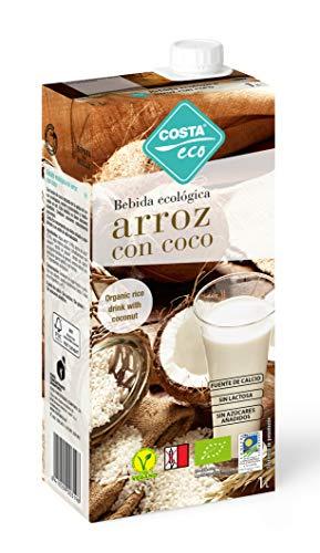 Costa Eco - Bebida Ecológica Arroz con Coco, 6 x 1L