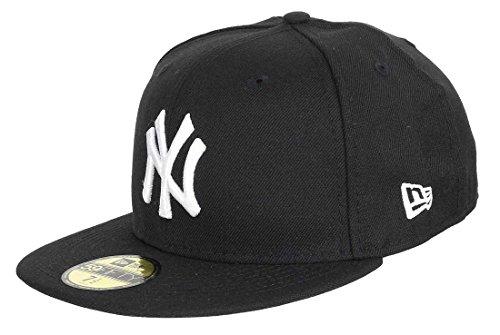 New Era 59 Fiftys Casquette NY Yankees – Noir/blanc - Noir - Taille Unique