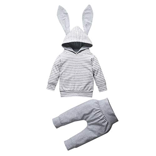 SANFASHION Garçon Unisexe Imprimer Sweat Pull Enfants Pantalons Jogging Hoodies Sweat Shirt Survêtements de Sport Jumper Hip Hop Vêtements Streetwear Capuche Hauts Sportwear 0-24M