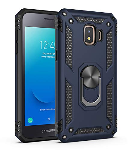 BestST Galaxy J2 Core 2018 Hülle, Samsung J2 Core 2018 Schutzhülle, Schlank Handyhülle Stoßfest Schutz TPU Doppelstruktur Fall Harte Rüstung Cover case Schale für Samsung Galaxy J2 Core 2018
