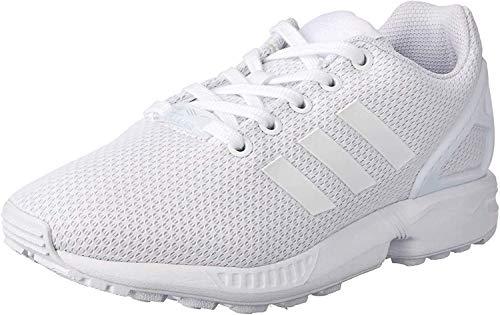 adidas Unisex-Kinder ZX Flux Low-Top, Weiß (Ftwr White/Ftwr White/Ftwr White), 38 EU