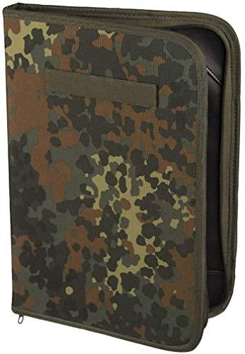 Mil-Tec Dossier des commandants de la Bundeswehr DIN A4 (Camuflaje/26 x 38 x 3 cm)