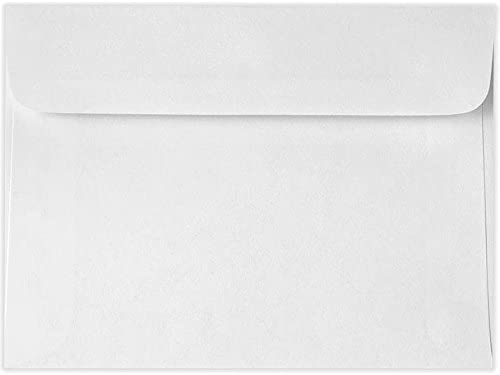 5 1 2 x Branded goods 7 Booklet Envelopes Free shipping on posting reviews - White of 24lb. Bright Pack