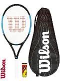 WILSON Ultra Pro 105 Graphite Raquette de Tennis (Diverses Options) (Raquette de Tennis, Couverture et balles)