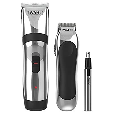 Wahl Hair Clippers for Men, 3-in-1 Cordless Head Shaver Men's Hair Clippers in Storage Case, Gifts for Men, Nose Hair Trimmer for Men, Hair Trimmer, Stubble Trimmer, Male Grooming Set