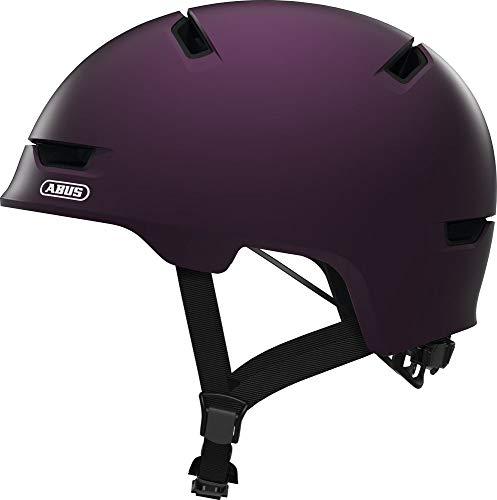ABUS Unisex Scraper 3.0 Fahrradhelm, Violett (magenta berry), M EU