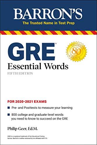 GRE Essential Words (Barron's Test Prep)