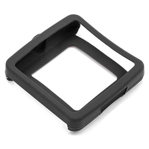 vhbw Hülle Cover kompatibel mit Sony Smartwatch 2, SW2 Fitnesstracker - schwarz, Silikon