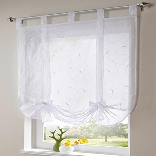cortinas cortas trabillas