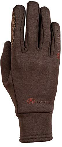 Roeckl Sports Winter Handschuh Warwick Unisex Reithandschuh, Mokka, 9,5