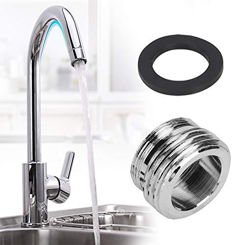 Adaptador del grifo de la cocina, desviador estándar del grifo de la cocina del grifo del baño de latón cromado
