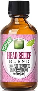 Head Relief Essential Oil Blend - 100% Pure Therapeutic Grade Head Relief Blend Oil - 60ml