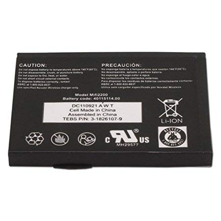 Non-OEM MiFi 2200 Battery for Novatel Wireless 3G Mobile Hotspot