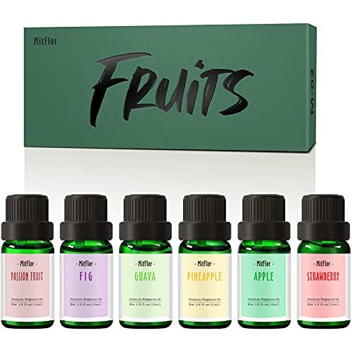 Fruity Essential Oils, MitFlor Premium Fruit Fragrance Oils, Soap,...