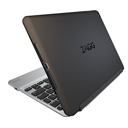 ZAGG Slim Book Ultrathin Case, Hinged with Detachable Bluetooth Keyboard for Apple iPad Air - Black
