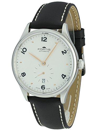 Fortis Herren-Armbanduhr Terrestis Hedonist a.m. Datum Analog Automatik 901.20.12 L.01