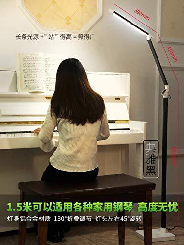 Lampe de table Led Lampe de protection du sol Salon Chambre Etude Lecture  Lecture Nordic Télécommande Lampe De Piano Vertical Simple Moderne-Favoris  + ...