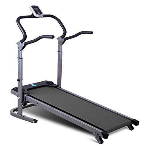 Review Yuliaos New Folding Treadmill Motorized Portable Walking Machine Home Fitness Equipment Ultra...