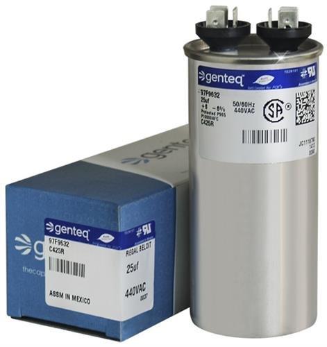 GE/Genteq Z97F9632 97F9632-25 uf MFD 440 Volt VAC Genteq Replace